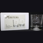 Masters Tournament 12.5 oz. Double Old Fashion Glasses Set of 2
