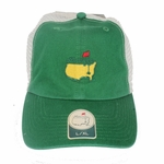 Masters Mesh Fitted Trucker Hat - Green