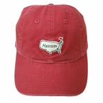 Masters Vintage Caddy Hat - Red