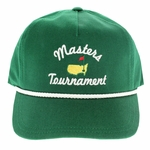 Masters Rope Vintage Caddy Hat - Green