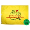 Lot 406 -Lot of 50 2014 Masters Embroidered Flags