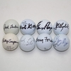 Lot 471 - Lot of Eight Signed Masters Champions Golf Balls JSA COA