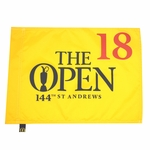 The 144th British Open Logo St Andrews British Open Pin Flag SOLD OUT at Course!