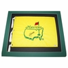 Lot 18 -Seve Ballesteros Signed Undated Masters Flag PSA/DNA C68152 & JSA Dual Certed