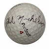 Lot 6 -Phil Mickelson Signed Cherry Hills Logo Golf Ball JSA COA FULL LETTER...RARE BALL!!