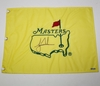 Lot 417 - Tiger Woods Signed Undated Masters Flag UDA SH035201