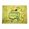 Lot 92 - 2000 Masters Embroidered Pin Flag Signed by 17 Champs JSA COA