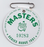 Vintage Masters Badges & other Tickets