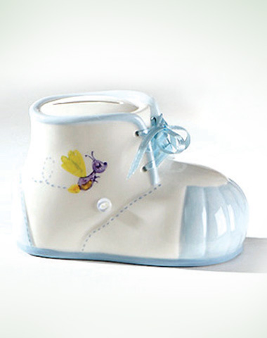 Baby Boy Bootie Bank 5""
