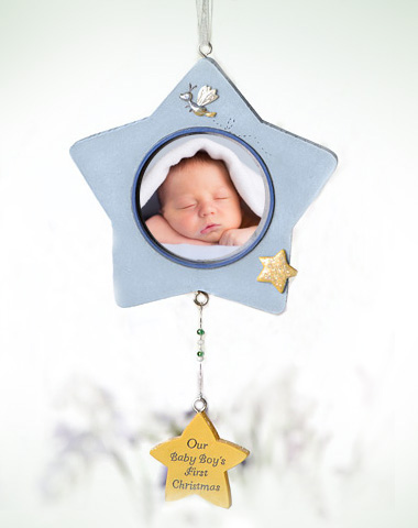 Baby Boy Hanging Ornament