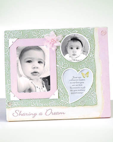 Baby Girl Multiple Frame