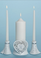 Unity Candle Holder 3 pc