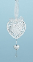 Wedding Heart Hanging Ornament