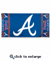 Atlanta Braves Towel - MLB Towels