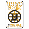 Boston Bruins Locker Room Sign
