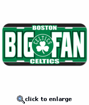Boston Celtics License Plate