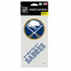Buffalo Sabres Decal 4x4 2pk