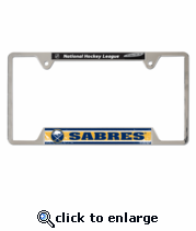 Buffalo Sabres Metal License Plate Frame