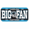Carolina Panthers License Plate