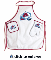 Colorado Avalanche BBQ Grill Set