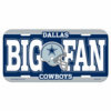Dallas Cowboys License Plate NEW