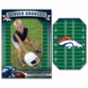 Denver Broncos Magnet Photo Frame