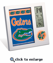 Florida Gators Digital Desk Clock