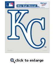 Kansas City Royals Decal 8x8