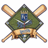 Kansas  City Royals  High Definition Wall Clock