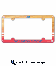 Los Angeles Clippers License Plate Frame