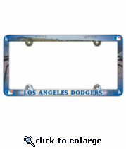 Los Angeles Dodgers License Plate Frame