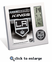 Los Angeles Kings Digital Desk Clock