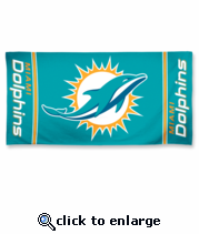 Miami Dolphins Towel - NFL Towel