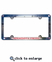 Minnesota Twins License Plate Frame