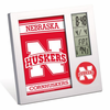 Nebraska Huskers Digital Desk Clock