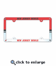 New Jersey Devils License Plate Frame