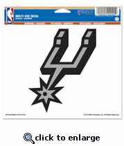 San Antonio Spurs Decal 8x8