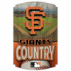San Francisco Giants  Wooden Sign 11 x 17