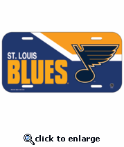 St Louis Blues License Plate