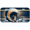 St Louis Rams License Plate