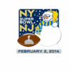 Super Bowl Trading Pin - Style 4