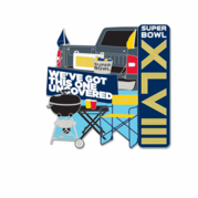 Super Bowl Trading Pins - $.01 Blowout!