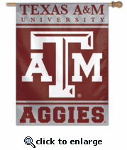 Texas A&M Aggies College Flag