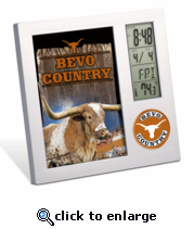 Texas Longhorns Digital Desk Clock