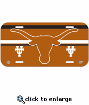 Texas Longhorns License Plate