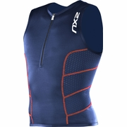 2XU Comp Triathlon Singlet - Men's