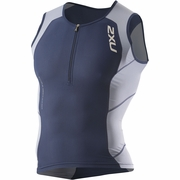 2XU Compression Triathlon Singlet - Men's