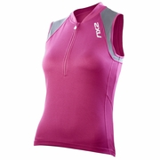 2XU Ice X Sleeveless Cycling Jersey - Women's
