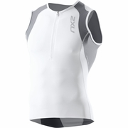 2XU Long Distance Aero Triathlon Singlet - Men's