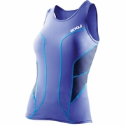 2XU Long Distance Triathlon Singlet - Women's